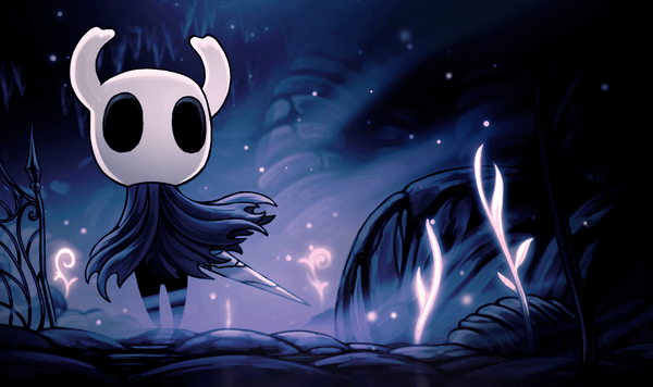 Lore Hollow Knight Wiki Giant monster digital wallpaper, hollow, trail, art, traveler.